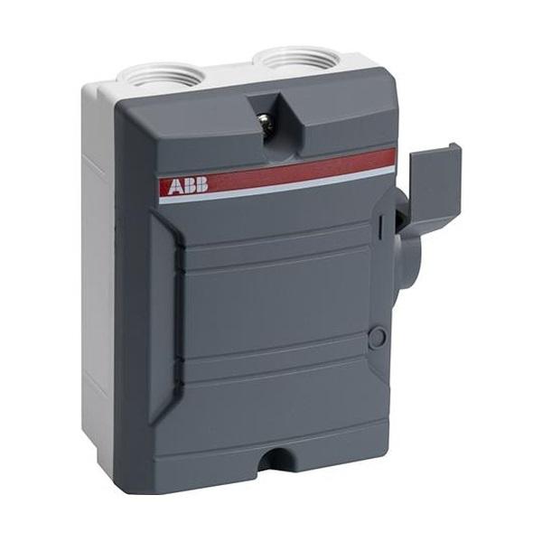 Odpínač trojpólový IP 65, šedá