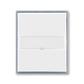 Kryt spínača kolískového s popisovým poľom, Element®, biela / ľadová šedá
