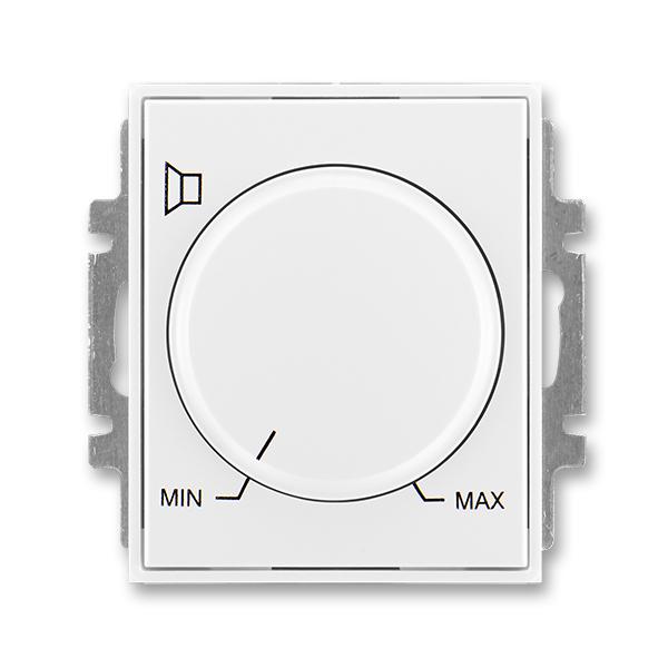 Regulátor hlasitosti, Element®, Time®, biela / biela