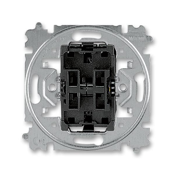 Prístroj prepínača striedavého dvojitého,