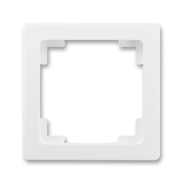 Rámček pre elektroinstalačné prístroje, jedno násobný, Swing®L, biela