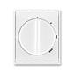 Kryt spínača s otočným ovládačom, Element®, Time®, biela / biela
