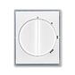 Kryt spínača s otočným ovládačom, Element®, biela / ľadová šedá