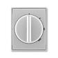 Kryt spínača s otočným ovládačom, Time®, Time® Arbo, titánová