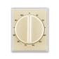 Kryt ovládača časového s otočným ovládačom, Element®, slonová kosť / ľadová biela