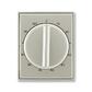 Kryt ovládača časového s otočným ovládačom, Time®, Time® Arbo, starostrieborná