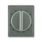 Kryt ovládača časového s otočným ovládačom, Time®, Time® Arbo, antracitová