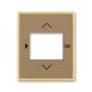 Kryt ovládača časovacieho, s otvorom pre displej, Element®, kávová / ľadová opálová