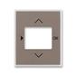 Kryt ovládača časovacieho, s otvorom pre displej, Time®, lungo / mliečna biela