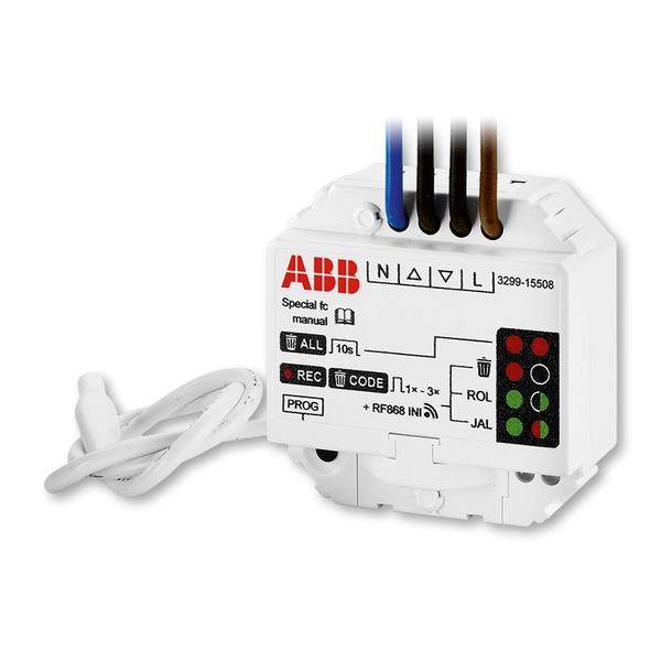 Modul prijímača rádiofrekvenčného (RF) signálu, žalúziový, vstavaný, 230 V AC