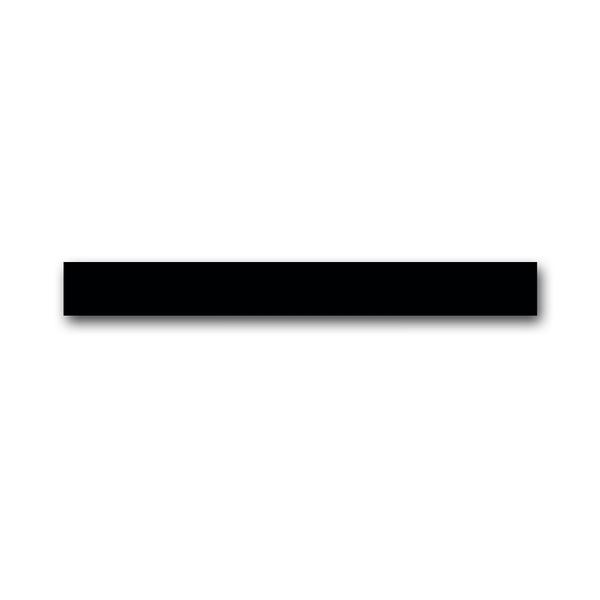 Lišta uzatváracia horná s IR prijímačom a snímačom priblíženia ABB-priOn, priOn, čierne sklo