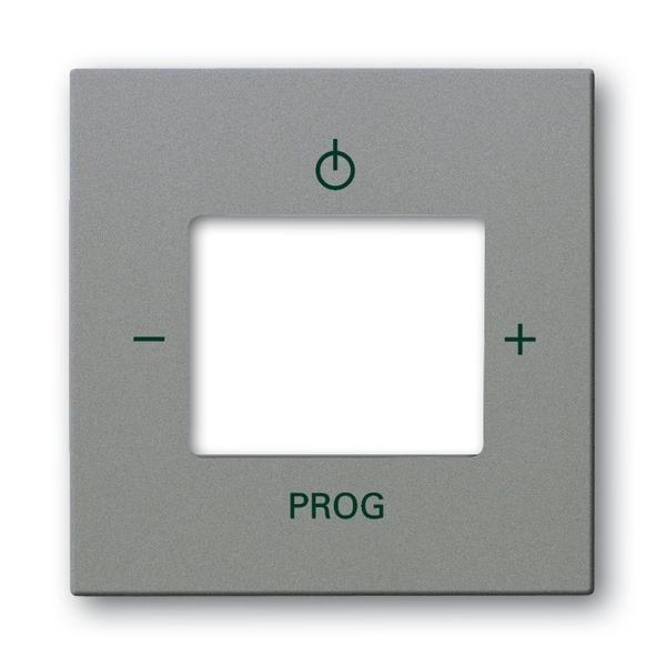 Kryt zosilňovača s tunerom FM alebo internetového rádia Busch-iNet, Solo®, Solo® carat, metalická šedá