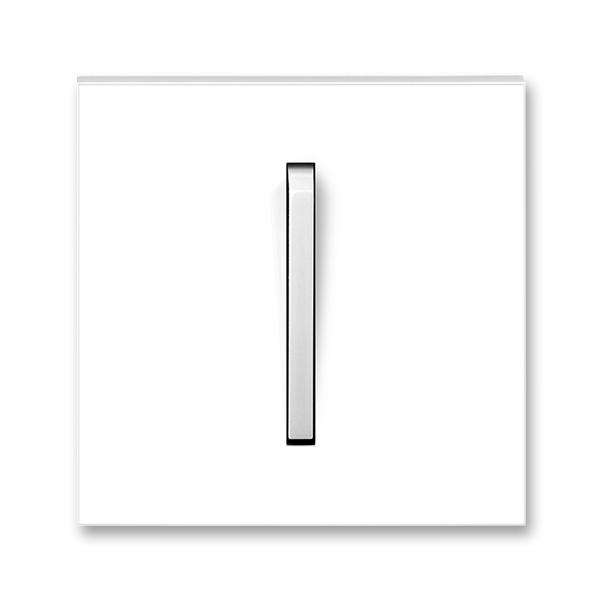 Kryt spínača s jednou páčkou, Neo®, biela / ľadová biela