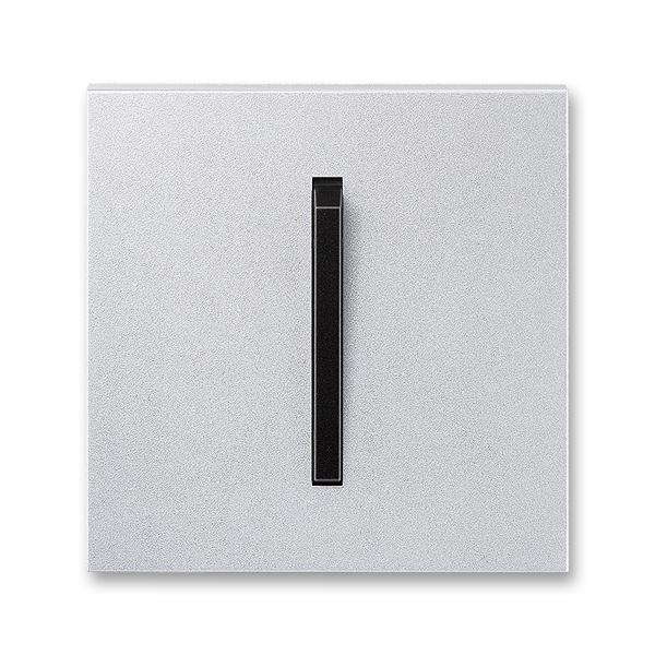 Kryt spínača s jednou páčkou, Neo® Tech, titánová / onyx
