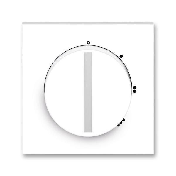 Kryt spínača s otočným ovládačom, Neo®, biela / ľadová biela