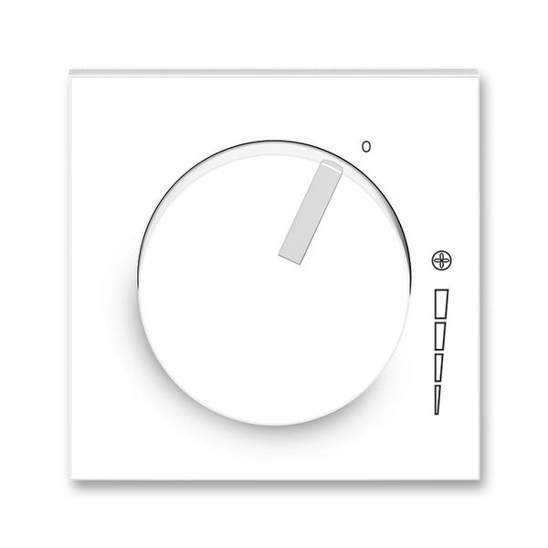 Kryt regulátora otáčiek, s upevňovacou maticou, Neo®, biela / ľadová biela
