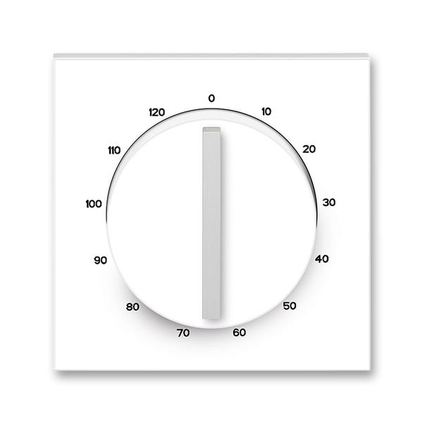 Kryt ovládača časového s otočným ovládačom, Neo®, biela / ľadová biela