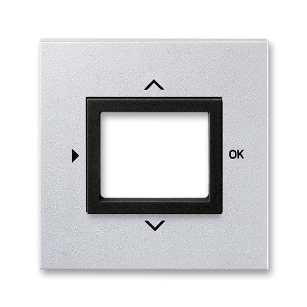 Kryt ovládača časovacieho, s otvorom pre displej, Neo® Tech, titánová / onyx