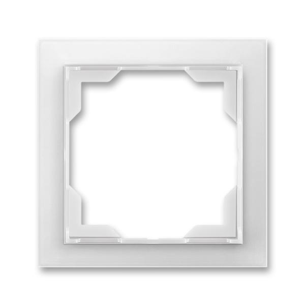 Rámček pre elektroinstalačné prístroje, jedno násobný, Neo®, ľadová biela