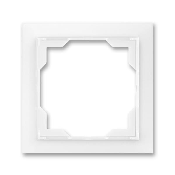 Rámček pre elektroinstalačné prístroje, jedno násobný, Neo®, biela