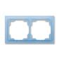 Rámček pre elektroinštalačné prístroje, dvoj násobný, Neo®, ľadová modrá
