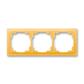 Rámček pre elektroinštalačné prístroje, troj násobný, Neo®, ľadová oranžová