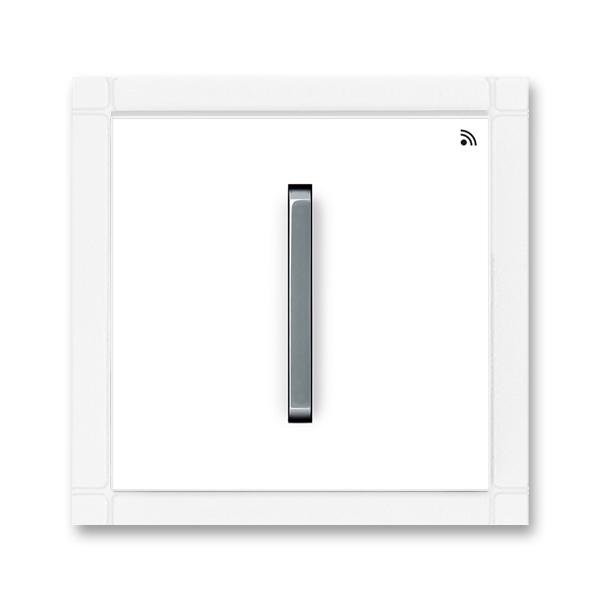 Vysielač RF jednonásobný, nástenný, Neo®, biela / ľadová šedá