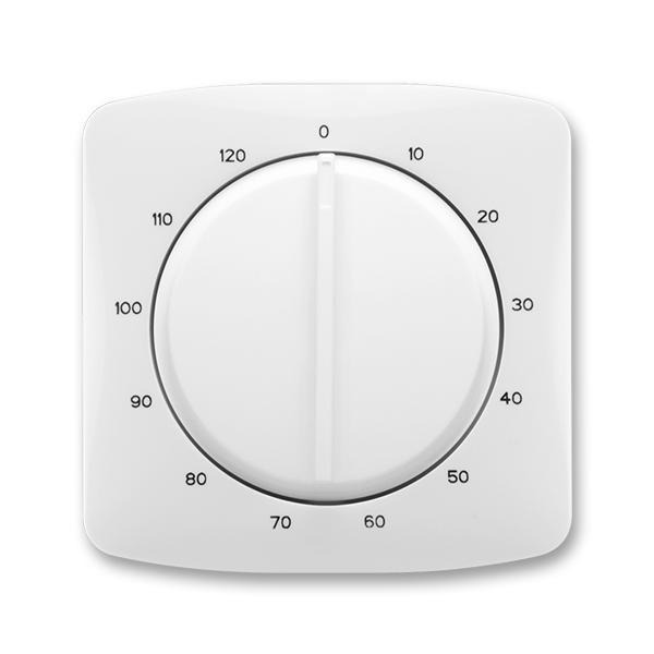 Kryt ovládača časového s otočným ovládačom, Tango®, biela