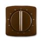 Kryt ovládača časového s otočným ovládačom, Tango®, hnedá