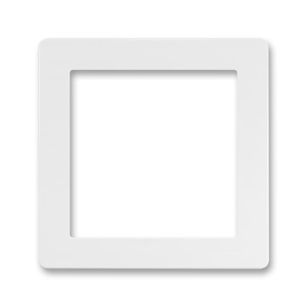 Kryt prístroja osvetlenia s LED alebo adaptéru Profil 45, Swing®, Swing®L, biela