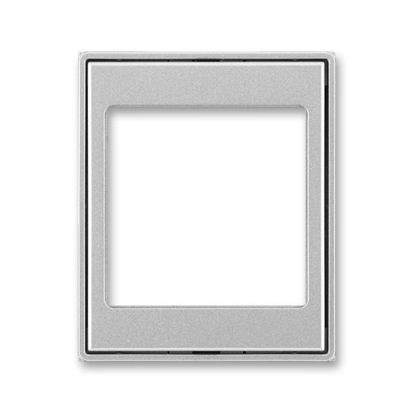 Kryt prístroja osvetlenia s LED, prístroja AudioWorld alebo adaptéru Profil 45, Time®, Time® Arbo, titánová