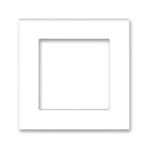 Kryt prístroja osvetlenia s LED, prístroja AudioWorld alebo adaptéru Profil 45, Neo®, biela