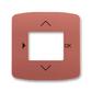 Kryt ovládača časovacieho, s otvorom pre displej, Tango®, vresová červená