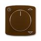Kryt spínača žalúziového komfortného, s otočným ovládačom, Tango®, hnedá