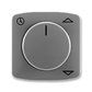 Kryt spínača žalúziového komfortného, s otočným ovládačom, Tango®, dymová šedá