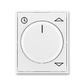 Kryt spínača žalúziového komfortného, s otočným ovládačom, Element®, Time®, biela / biela