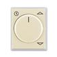 Kryt spínača žalúziového komfortného, s otočným ovládačom, Element®, slonová kosť / ľadová biela