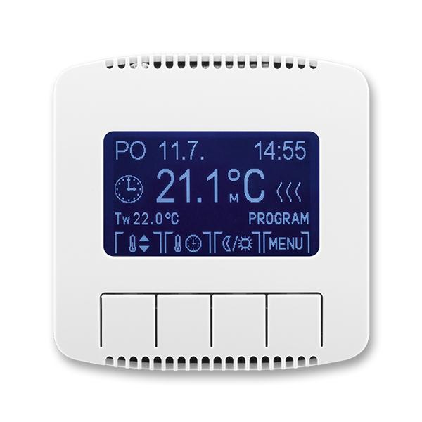 Termostat univerzálny programovateľný (ovládacia jednotka), Tango®, biela