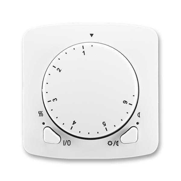 Termostat univerzálny otočný (ovládacia jednotka), Tango®, biela