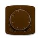 Termostat univerzálny otočný (ovládacia jednotka), Tango®, hnedá