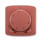 Termostat univerzálny otočný (ovládacia jednotka), Tango®, vresová červená
