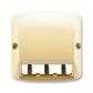 Kryt pre prístroj šikmého osvetlenia s LED alebo pre prvky Panduit Mini-Com, Tango®, béžová