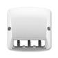 Kryt pre prístroj šikmého osvetlenia s LED alebo pre prvky Panduit Mini-Com, Tango®, šedá