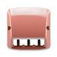Kryt pre prístroj šikmého osvetlenia s LED alebo pre prvky Panduit Mini-Com, Tango®, vresová červená