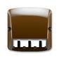 Kryt pre prístroj šikmého osvetlenia s LED alebo pre prvky Panduit Mini-Com, Tango®, hnedá