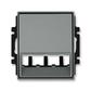 Kryt pre prístroj šikmého osvetlenia s LED alebo pre prvky Panduit Mini-Com, Time®, oceľová