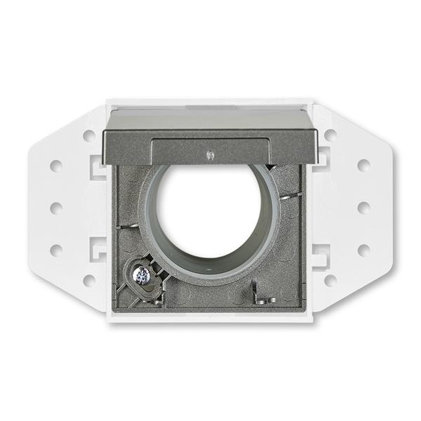 Zásuvka centrálneho vysávania, Solo®, Solo® carat, metalická šedá