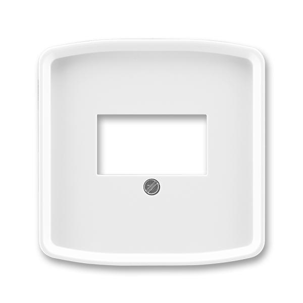 Kryt zásuvky komunikačnej priamej, Tango®, biela