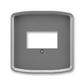 Kryt zásuvky komunikačnej priamej, Tango®, dymová šedá