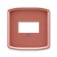 Kryt zásuvky komunikačnej priamej, Tango®, vresová červená